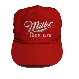Vintage Miller High Life Cap